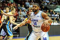 GRONINGEN - Basketbal, Donar - Den Helder Suns, Dutch Basketbal League, seizoen 2018-2019, 20-04-2019, Donar speler Lance Jeter