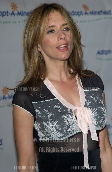 Actress ROSANNA ARQUETTE at the 3rd Annual Adopt-A-Minefield Benefit Gala at the Beverly Hills Hilton..Sept 23, 2003