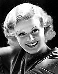 Jean Harlow (1911 — 1937) - american actress.