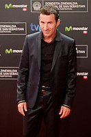"Actor Antonio de la Torre posses in the photocall of the ""Canibal"" film presentation during the 61 San Sebastian Film Festival, in San Sebastian, Spain. September 23, 2013. (ALTERPHOTOS/Victor Blanco) /NortePhoto"