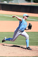 AJ Griffin, San Diego Toreros, playing in the NCAA Tempe Regional against Wisconsin-Milwaukee at Packard Stadium, Tempe, AZ - 06/05/2010.  Photo By Bill Mitchell / Four Seam Images