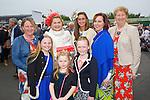 Enjoying Ladies Day at the Listowel Races on Friday were: Front left to right, Aideen O'Carroll, Dervela O'Carroll, Ava Doyle.  Back left to right, Breda O'Sullivan, Liz O'Carroll, Ann Maria McEnery, Loriena Duggan, Nora Costello from Asdee and Ballybunion