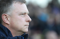 Coventry City's Manager Mark Robins  <br /> <br /> Photographer Mick Walker/CameraSport<br /> <br /> The EFL Sky Bet League One - Burton Albion v Coventry City - Saturday 17th November 2018 - Pirelli Stadium - Burton upon Trent<br /> <br /> World Copyright &copy; 2018 CameraSport. All rights reserved. 43 Linden Ave. Countesthorpe. Leicester. England. LE8 5PG - Tel: +44 (0) 116 277 4147 - admin@camerasport.com - www.camerasport.com