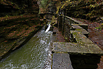 The Upper Gorge, Enfield Creek, Robert H. Treman State Park, New York, USA
