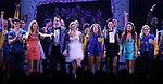 Cheech Manohar, Kyle Selig, Kate Rockwell, Grey Henson, Taylor Louderman, Erika Henningsen, Barrett Wilbert Weed, Ashley Park, Kerry Butler and cast during the Broadway Opening Night Performance Curtain Call of 'Mean Girls' at the August Wilson Theatre on April 8, 2018 in New York City.
