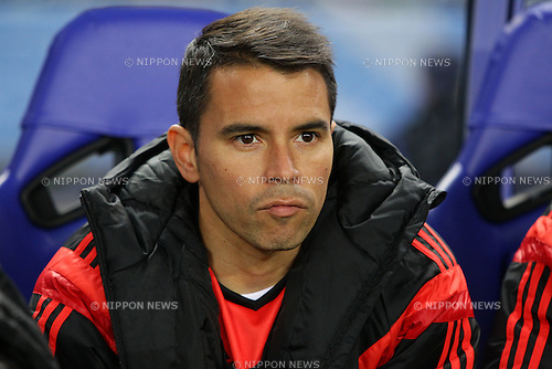 Javier Saviola (River Plate), DECEMBER 16, 2015 - Football / Soccer : Javier Saviola of River Plate looks on prior to the 2015 FIFA Club World Cup semi-final match between Sanfrecce Hiroshima and River Plate at Nagai Stadium Osaka in Osaka, Japan (Photo by AFLO)