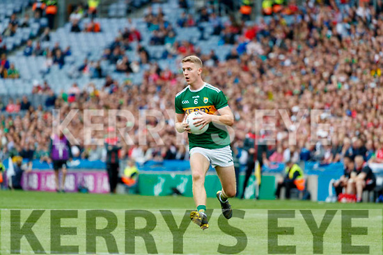 Gavin Crowley, Kerry during the All Ireland Senior Football Semi Final between Kerry and Tyrone at Croke Park, Dublin on Sunday.