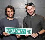 Bret Tucker and Julian Dankner  Behind the Scenes with BroadwayHD: A Digital Capture of  Roundabout Theatre Company's 'If I Forget' at Laura Pels Theatre on 4/28/2017 in New York City.