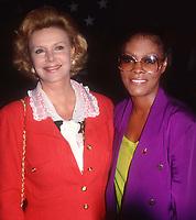 #BarbaraSinatra #DionneWarwick 1989<br /> Photo By Adam Scull/PHOTOlink.net
