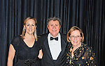 MERRICK - NOV. 13: Stanley Drucker, clarinetist; with (R) wife Naomic Drucker, clarinetist; and Marilyn Sherman, pianist, after performing in concert presented by Merrick-Bellmore Community Concert Association, November 13, 2010, in Merrick, NY, USA
