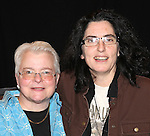 playwright Paula Vogel  and director Tina Landau attending the Meet & Greet for the New York Theatre Workshop production of 'A Civil War Christmas' at their rehearsal studios on October 16, 2012 in New York City.