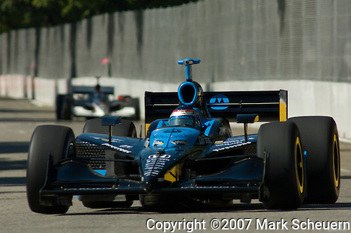 31 August 2007: Danica Patrick (USA) at the Detroit Belle Isle Grand Prix, Detroit, Michigan.