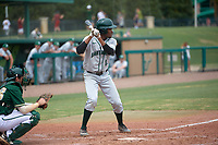 Dartmouth Big Green designated hitter Blake Crossing (13) at bat during a game against the USF Bulls on March 17, 2019 at USF Baseball Stadium in Tampa, Florida.  USF defeated Dartmouth 4-1.  (Mike Janes/Four Seam Images)