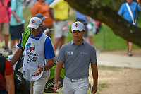 Si Woo Kim (KOR) makes his way to the tee on 2 during day 2 of the Valero Texas Open, at the TPC San Antonio Oaks Course, San Antonio, Texas, USA. 4/5/2019.<br /> Picture: Golffile | Ken Murray<br /> <br /> <br /> All photo usage must carry mandatory copyright credit (&copy; Golffile | Ken Murray)