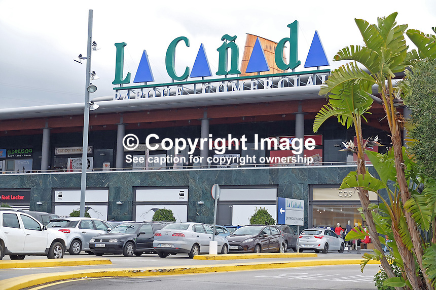 La Ca&ntilde;ada, shopping centre, Marbella, Spain, March, 2015, 201503160621<br />