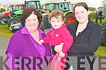 FAIR: Enjoying the Kerry Harvest Fair at Tralee Mart on Sunday l-r: Christina O'Gorman, Michella O'Leary and Christina O'Gorman.