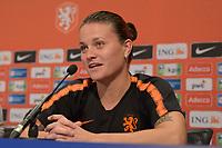 VOETBAL: HEERENVEEN: 02-09-2019, Abe Lenstra Stadion, persconferentie Nederlands vrouwenvoetbalteam, aanvoerder Sherida Spitse, ©foto Martin de Jong