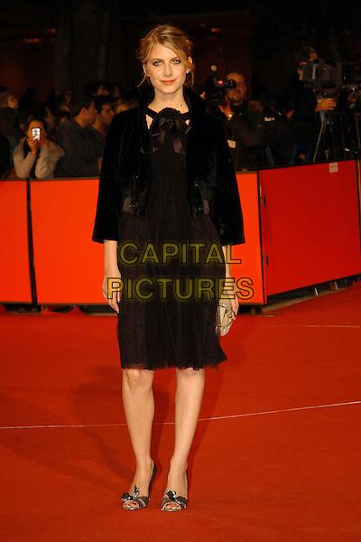 "MELANIE LAURENT .Premiere for film  ""L'Amore Cache"" during the .Rome International Film Festival, Rome, Italy, .October 20th 2007..full length black dress .CAP/CAV.©Luca Cavallari/Capital Pictures."