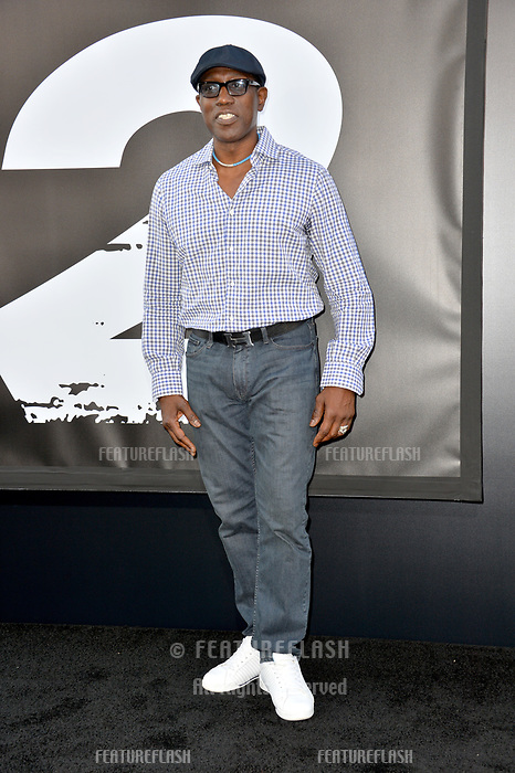 Wesley Snipes at the premiere for &quot;The Equalizer 2&quot; at the TCL Chinese Theatre, Los Angeles, USA 17 July 2018<br /> Picture: Paul Smith/Featureflash/SilverHub 0208 004 5359 sales@silverhubmedia.com