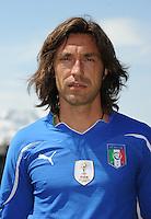 Andrea PIRLO<br /> Foto Ufficiale Nazionale Italia - Coppa del Mondo Sudafrica 2010<br /> Sestriere 26/5/2010 <br /> Foto FIGC/Andrea Staccioli Insidefoto