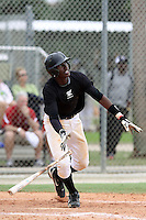 Montrell Marshall, #11 of South Gwinnett High School, Georgia playing for the Team Elite during the WWBA World Champsionship 2012 at the Roger Dean Complex on October 27, 2012 in Jupiter, Florida. (Stacy Jo Grant/Four Seam Images)..