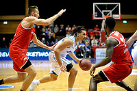 GRONINGEN - Basketbal, Donar - Spirou Basket, Martiniplaza, Europe Cup, seizoen 2018-2019, 20-11-2018, Donar speler Sean Cunningham op weg naar de basket