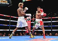 LAS VEGAS - NOVEMBER 23: Leduan Barthelemy v Eduardo Ramirez on the FOX Sports PBC Pay-Per-View Fight Night at the MGM Grand Garden Arena on November 23, 2019 in Las Vegas, Nevada. (Photo by Frank Micelotta/Fox Sports/PictureGroup)