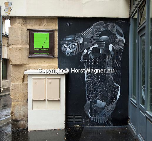 Paris - France, October 14, 2012 -- Graphic art on a wall -- Photo: © HorstWagner.eu