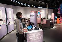 Norwegisches Erdoelmuseum in Stavanger. In dem Muesum wird die Geschichte des Oelboom in Norwegen seit der Entdeckung riesiger Oel- und Gasvorkommen in der norwegischen Nordsee erklaert.<br /> Im Bild: Ein Ausstellungsraum, in dem die Problematik des Klimawandels erklaert wird.<br /> 3.1.2020, Stavanger<br /> Copyright: Christian-Ditsch.de<br /> [Inhaltsveraendernde Manipulation des Fotos nur nach ausdruecklicher Genehmigung des Fotografen. Vereinbarungen ueber Abtretung von Persoenlichkeitsrechten/Model Release der abgebildeten Person/Personen liegen nicht vor. NO MODEL RELEASE! Nur fuer Redaktionelle Zwecke. Don't publish without copyright Christian-Ditsch.de, Veroeffentlichung nur mit Fotografennennung, sowie gegen Honorar, MwSt. und Beleg. Konto: I N G - D i B a, IBAN DE58500105175400192269, BIC INGDDEFFXXX, Kontakt: post@christian-ditsch.de<br /> Bei der Bearbeitung der Dateiinformationen darf die Urheberkennzeichnung in den EXIF- und  IPTC-Daten nicht entfernt werden, diese sind in digitalen Medien nach §95c UrhG rechtlich geschuetzt. Der Urhebervermerk wird gemaess §13 UrhG verlangt.]