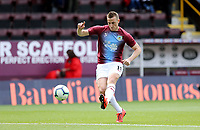 Burnley's Chris Wood during the pre-match warm-up <br /> <br /> Photographer Rich Linley/CameraSport<br /> <br /> The Premier League - Burnley v Manchester City - Sunday 28th April 2019 - Turf Moor - Burnley<br /> <br /> World Copyright © 2019 CameraSport. All rights reserved. 43 Linden Ave. Countesthorpe. Leicester. England. LE8 5PG - Tel: +44 (0) 116 277 4147 - admin@camerasport.com - www.camerasport.com