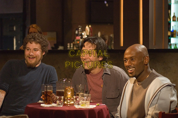 SETH ROGEN, PAUL RUDD & ROMANY MALCO.in The 40 Year Old Virgin.*Editorial Use Only*.www.capitalpictures.com.sales@capitalpictures.com.Supplied by Capital Pictures.