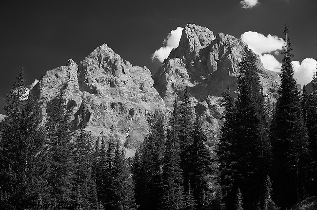 Tetons from Upper Cascade Canyon, Grand Teton National Park