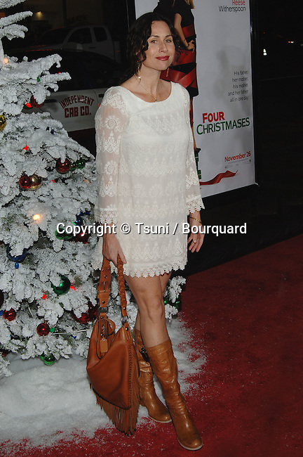 Minnie Driver -<br /> Four Christmases Premiere at the Chinese Theatre In Los Angeles.