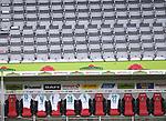 FussballFussball: agnph001:  1. Bundesliga Saison 2019/2020 27. Spieltag 23.05.2020<br />SC Freiburg - SV Werder Bremen<br />Die Bank des SV Werder Bremen in der Halbzeit.<br />FOTO: Markus Ulmer/Pressefoto Ulmer/ /Pool/gumzmedia/nordphoto<br /><br />Nur fŸr journalistische Zwecke! Only for editorial use! <br />No commercial usage!