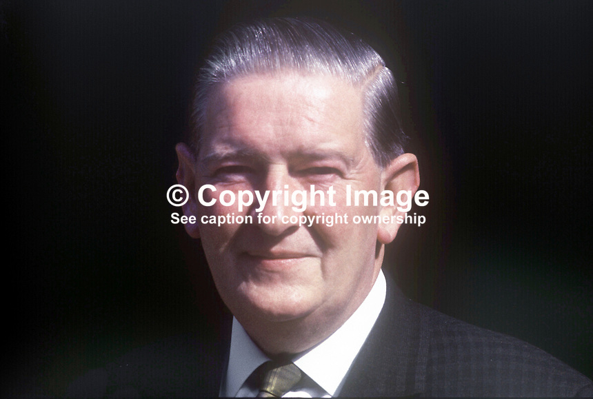 George Lavery, Roman Catholic member, Scarman Tribunal, set up to investigate Violence and Civil Disturbances in Northern Ireland in 1969. September 1969. 196909000251<br />