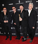 U2<br />  attends THE WEINSTEIN COMPANY &amp; NETFLIX 2014 GOLDEN GLOBES AFTER-PARTY held at The Beverly Hilton Hotel in Beverly Hills, California on January 12,2014                                                                               &copy; 2014 Hollywood Press Agency