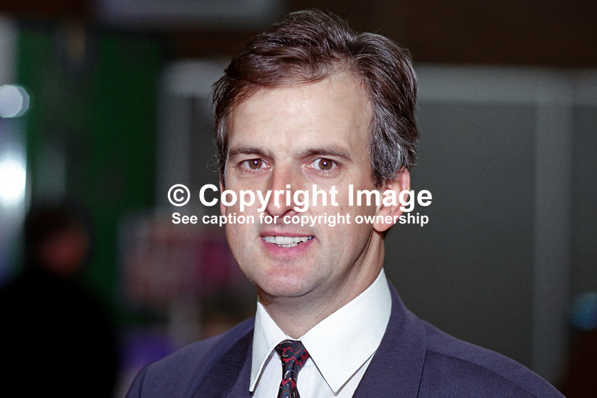 Robert Evans, MEP, Labour Party, UK, 199509012.<br /> <br /> Copyright Image from Victor Patterson,<br /> 54 Dorchester Park, Belfast, UK, BT9 6RJ<br /> <br /> t1: +44 28 90661296<br /> t2: +44 28 90022446<br /> m: +44 7802 353836<br /> <br /> e1: victorpatterson@me.com<br /> e2: victorpatterson@gmail.com<br /> <br /> For my Terms and Conditions of Use go to<br /> www.victorpatterson.com