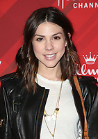 LOS ANGELES, CA - DECEMBER 4: Kate Mansi, at Screening Of Hallmark Channel's 'Christmas At Holly Lodge' at The Grove in Los Angeles, California on December 4, 2017. Credit: Faye Sadou/MediaPunch /NortePhoto.com NORTEPHOTOMEXICO