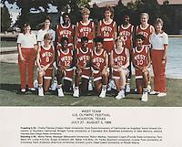 27 July 1986: Kami Anderson.