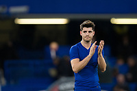 Chelsea's Alvaro Morata applauds the fans at the final whistle <br /> <br /> Photographer Craig Mercer/CameraSport<br /> <br /> The Premier League - Chelsea v West Bromwich Albion - Monday 12th February 2018 - Stamford Bridge - London<br /> <br /> World Copyright &copy; 2018 CameraSport. All rights reserved. 43 Linden Ave. Countesthorpe. Leicester. England. LE8 5PG - Tel: +44 (0) 116 277 4147 - admin@camerasport.com - www.camerasport.com