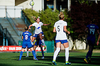 Seattle, WA - Saturday July 02, 2016: Louise Schillgard during a regular season National Women's Soccer League (NWSL) match between the Seattle Reign FC and the Boston Breakers at Memorial Stadium.