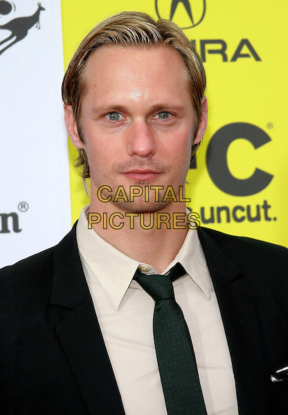 ALEXANDER SKARSGARD.IFC's 2009 Indie Film Celebration following Film Independent's Spirit Awards held at Shutters on the Beach, Santa Monica, California, USA..February 21st, 2009.headshot portrait .CAP/ADM/TC.©T. Conrad/AdMedia/Capital Pictures.