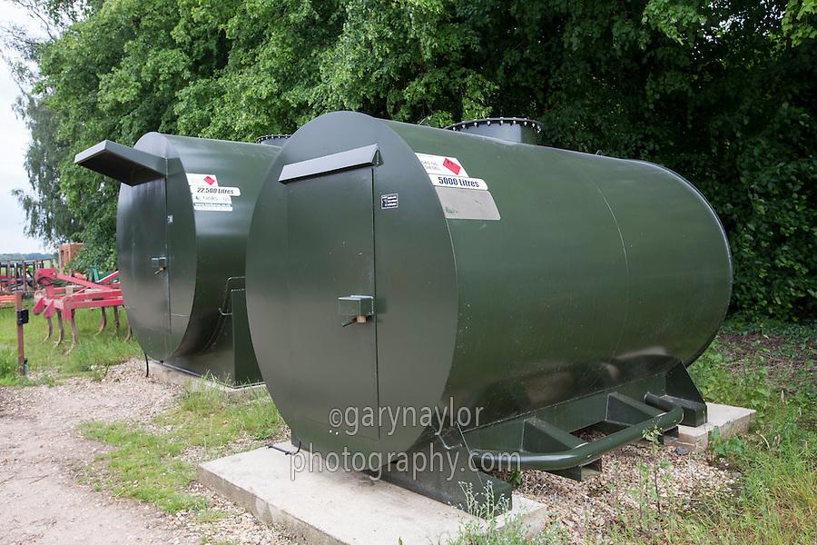 bunded secure farm fuel tanks lincolnshire