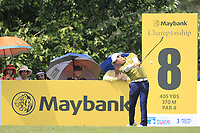 Rio Ishikawa (JPN) in action on the 8th tee during Round 2 of the Maybank Championship at the Saujana Golf and Country Club in Kuala Lumpur on Friday 2nd February 2018.<br /> Picture:  Thos Caffrey / www.golffile.ie<br /> <br /> All photo usage must carry mandatory copyright credit (&copy; Golffile | Thos Caffrey)