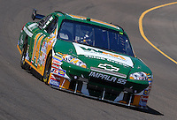 Apr 19, 2007; Avondale, AZ, USA; Nascar Nextel Cup Series driver Sterling Marlin (14) during practice for the Subway Fresh Fit 500 at Phoenix International Raceway. Mandatory Credit: Mark J. Rebilas