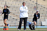 20 February 2016: Florida head coach Amanda O'Leary. The University of North Carolina Tar Heels hosted the University of Florida Gators in a 2016 NCAA Division I Women's Lacrosse match. Florida won the game 16-15.