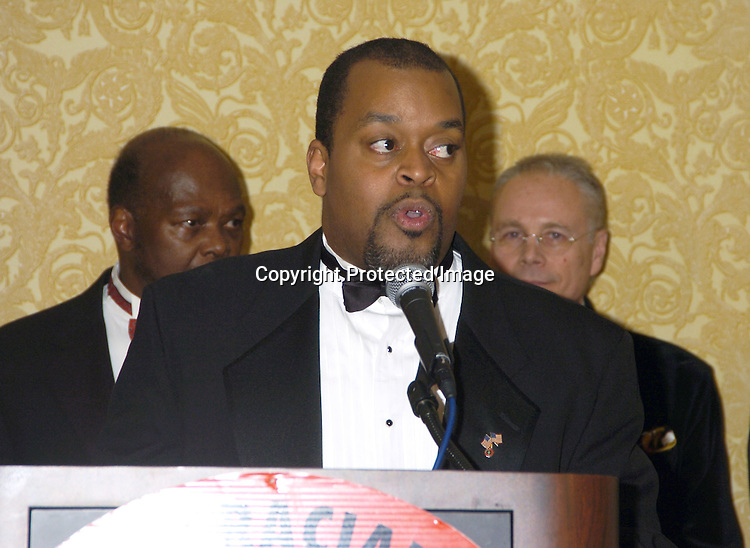 Niger Innis ..at the 2005 Congress of Racial Equality Dinner ..at The New York Hilton & Towers on January 17, 2005. ..Photo by Robin Platzer, Twin Images