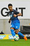 Hoffenheims Serge Gnabry (Nr.29) am Ball beim Spiel in der Fussball Bundesliga, TSG 1899 Hoffenheim - VfL Wolfsburg.<br /> <br /> Foto &copy; PIX-Sportfotos *** Foto ist honorarpflichtig! *** Auf Anfrage in hoeherer Qualitaet/Aufloesung. Belegexemplar erbeten. Veroeffentlichung ausschliesslich fuer journalistisch-publizistische Zwecke. For editorial use only.