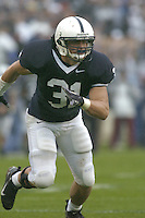 02 September 2006:  Paul Posluszny (31)..The Penn State Nittany Lions defeated the Akron Zips 34-16 September 2, 2006 at Beaver Stadium in State College, PA..