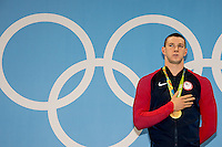 Murphy Ryan USA gold medal and Olympic record with 51.97<br /> 100 backstroke men <br /> Rio de Janeiro  XXXI Olympic Games <br /> Olympic Aquatics Stadium <br /> swimming finals 08/08/2016<br /> Photo Giorgio Scala/Deepbluemedia/Insidefoto
